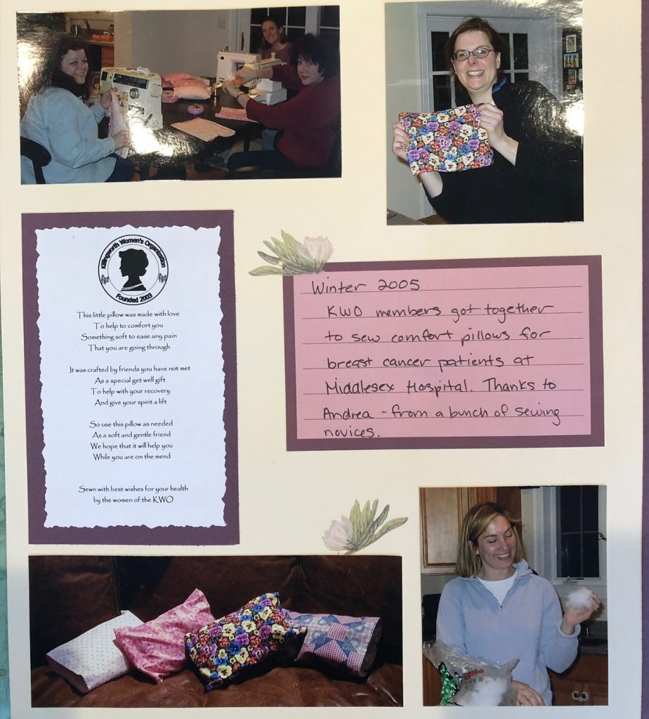 Winter 2005 – Pillows for Breast Cancer Patients