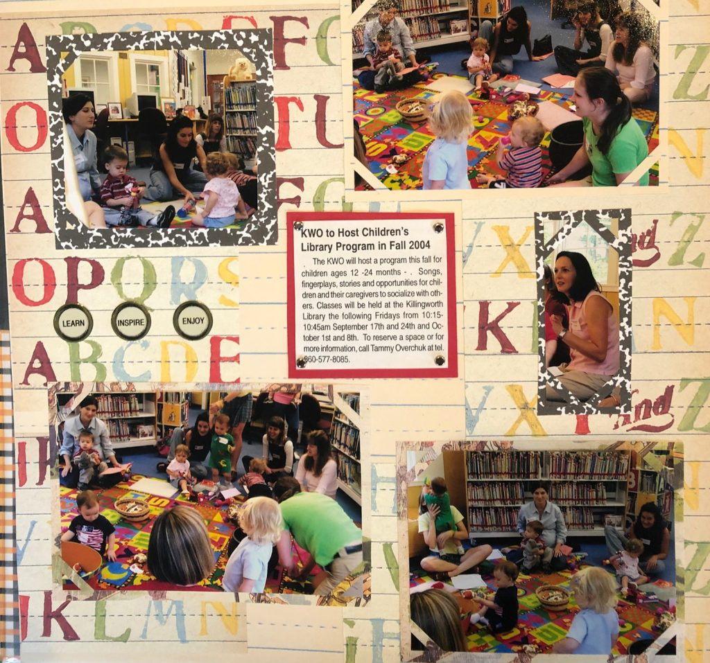 KWO to Host Children's Library Program in Fall 2004