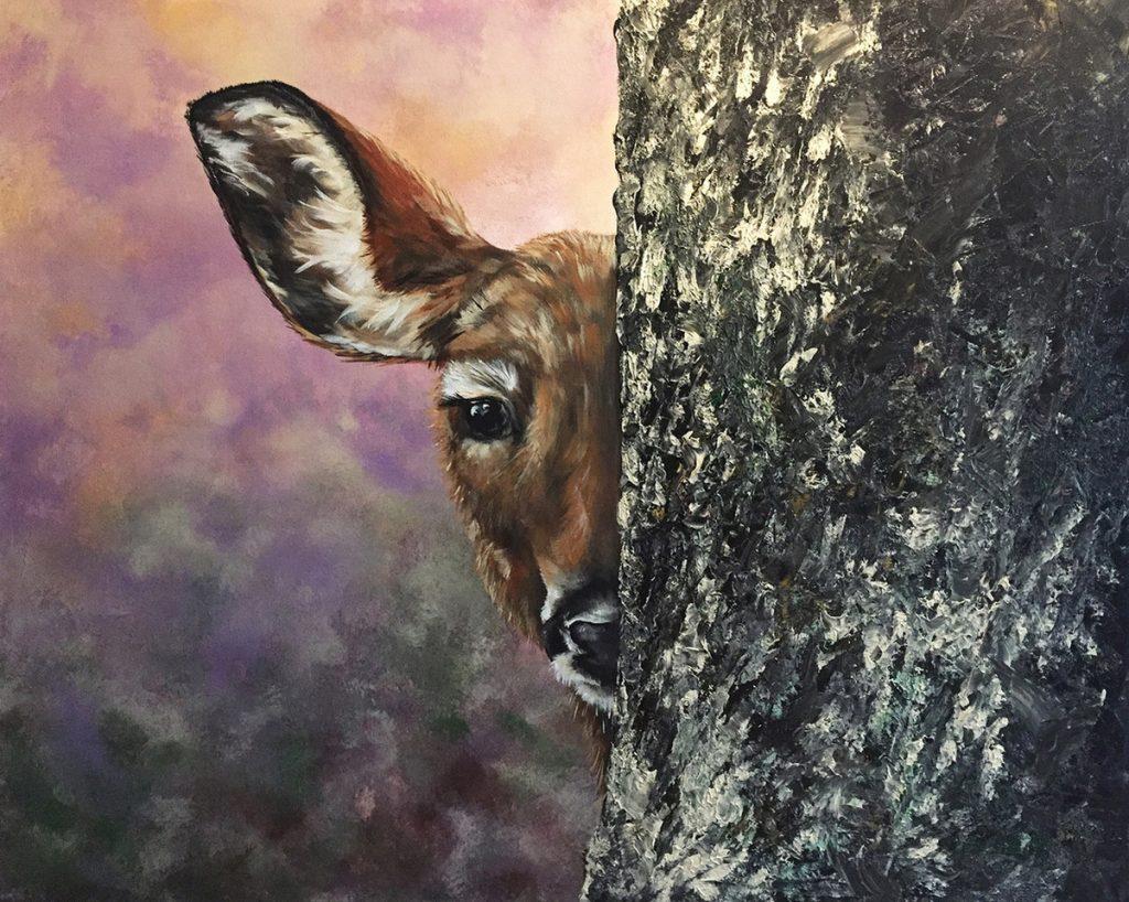 Lisa Helene Goetze-Keiser - Doe a Deer