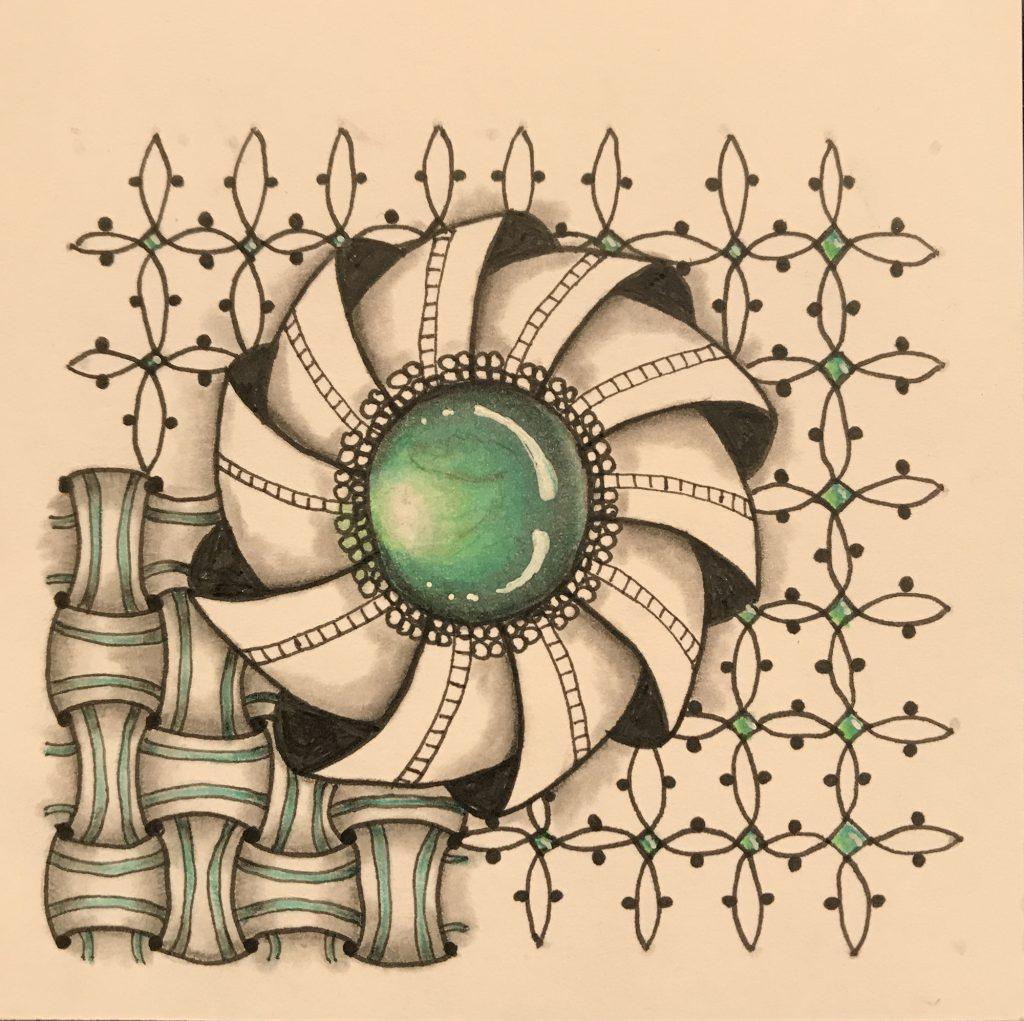 Zentangle 3 - Heather Temple