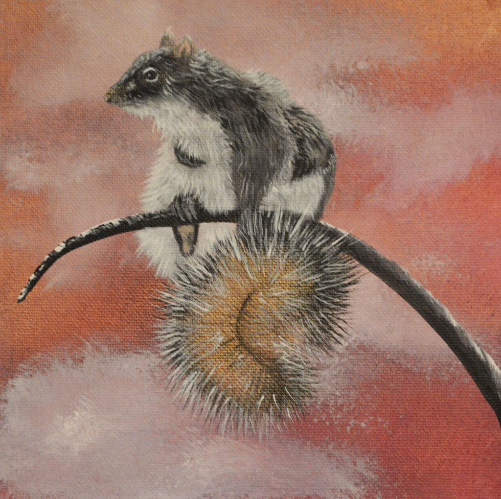 Squirrel - Lisa Helene Goetze-Keiser